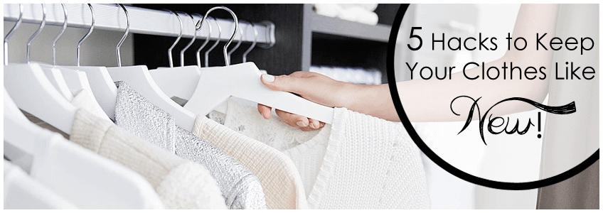 Laundry hacks to look new ones
