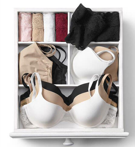 lingerie in drawer 3
