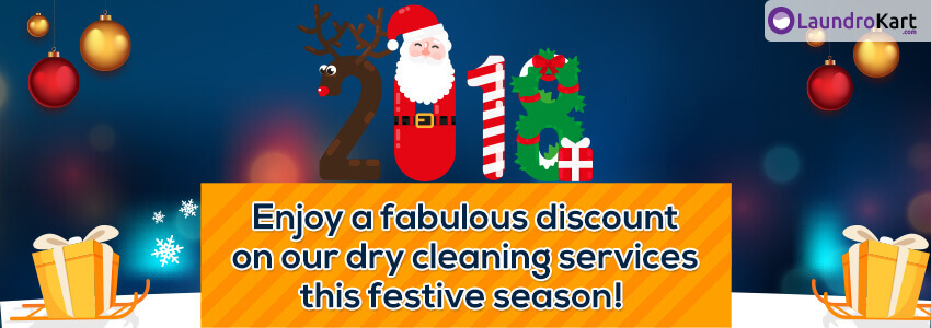 Festive offer on Laundry