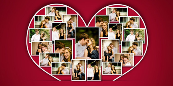 couple photo collage