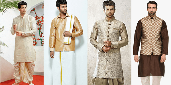 Men's traditional wear for Ugadi