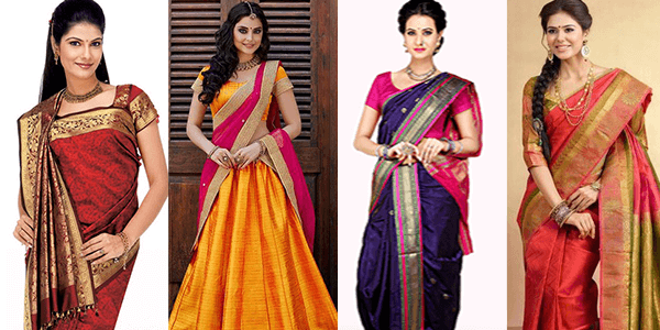 Women's traditional wear for Ugadi