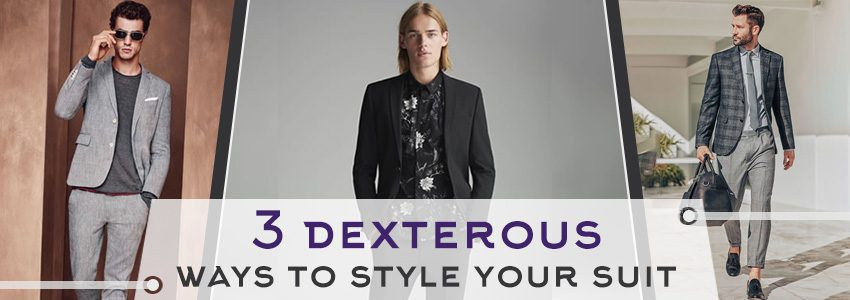 3 dexterous ways to style your suit