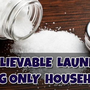 5 unbelievable laundry hacks using only household items