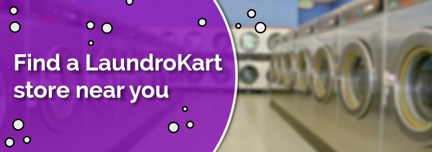 Find a LaundroKart store near you!