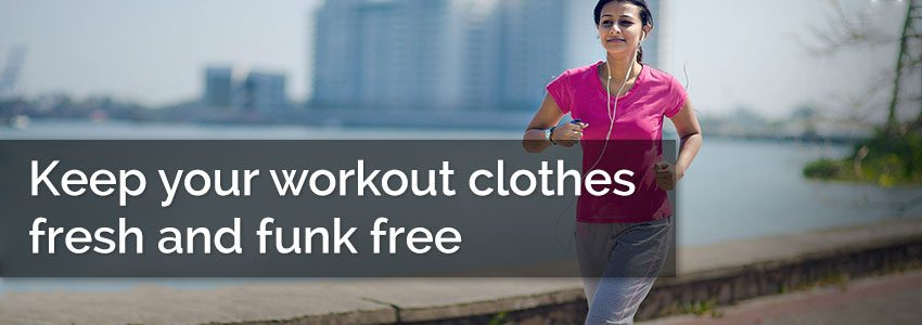 Keep your workout clothes fresh and funk free