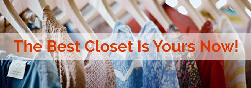 Tips to better organize your wardrobe!