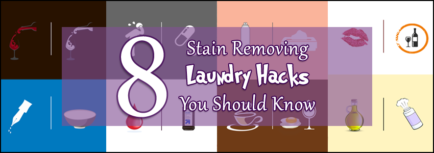 8 Stain Removing Laundry Hacks You Should Know