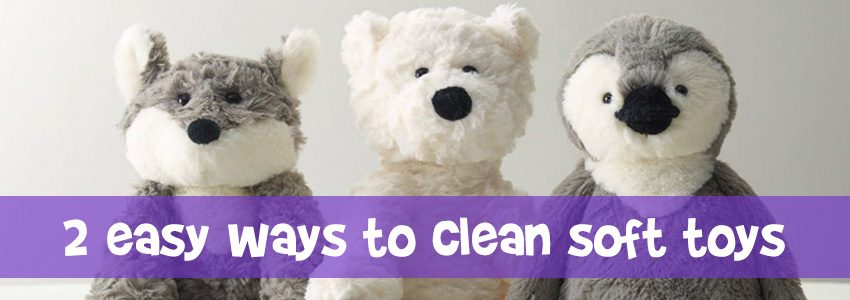 How to clean those cuddly soft toys