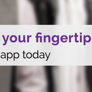 Laundry at your fingertips! Download our app today
