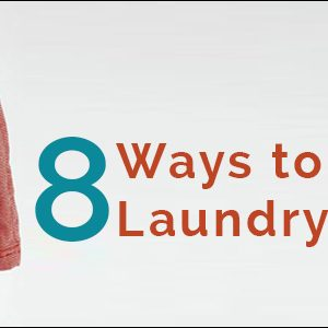 8 tips to make Laundry easier!