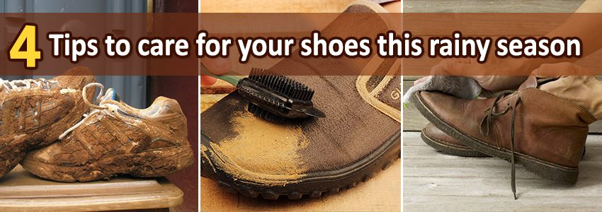 4 simple tips to care for your shoes this rainy season